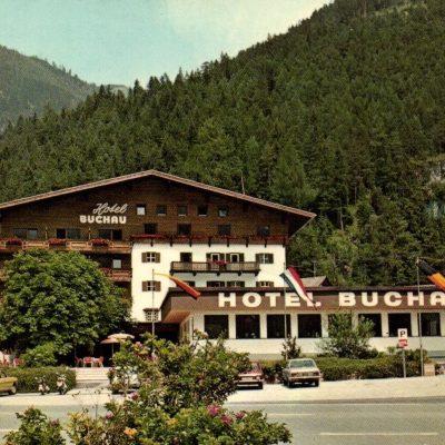 Hotel Buchau in den 80er Jahren.