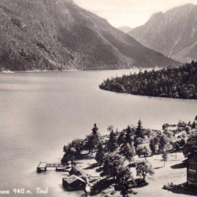 Gaisalpe am Achensee im Jahr 1950.