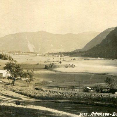 Buchau und Seespitz am Achensee im Jahr 1925.