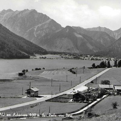 Buchau am Achensee in den 50er Jahren.