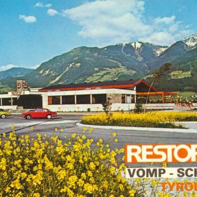 Restop bei Vomp in den 80er Jahren.