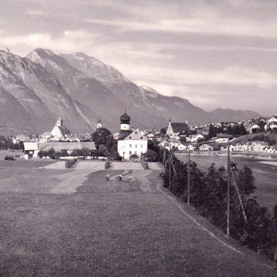 Schwaz im Jahr 1933.