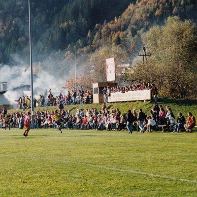 Der alte Fußballplatz im Jahr 1994.